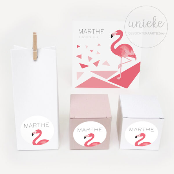 Stickertje passend bij het kaartje van Marthe