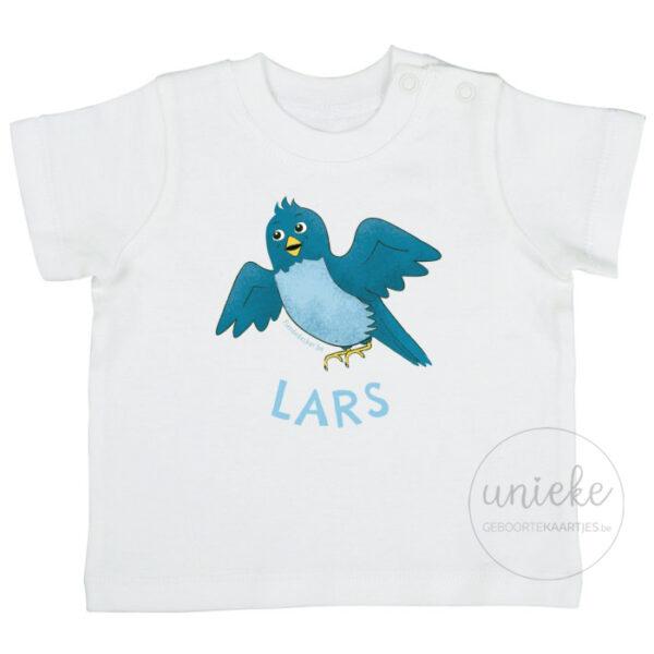T-shirtje passend bij het kaartje van Lars