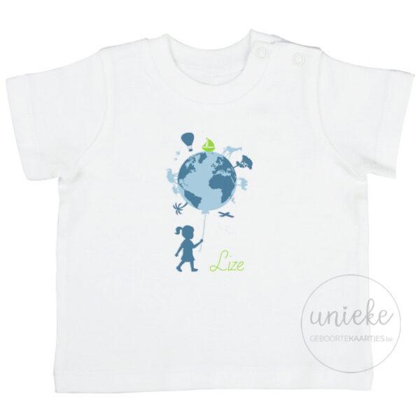 T-shirtje passend bij het kaartje van Lize