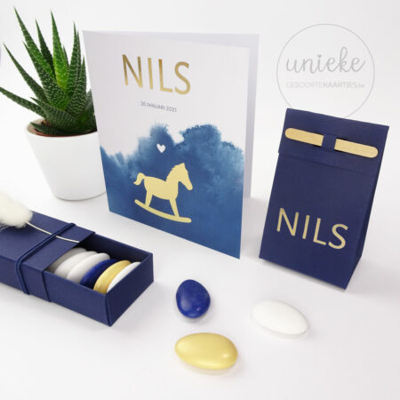 Naamsticker van Nils
