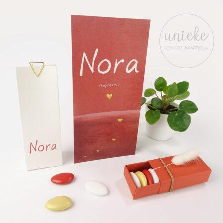 Naamsticker van Nora