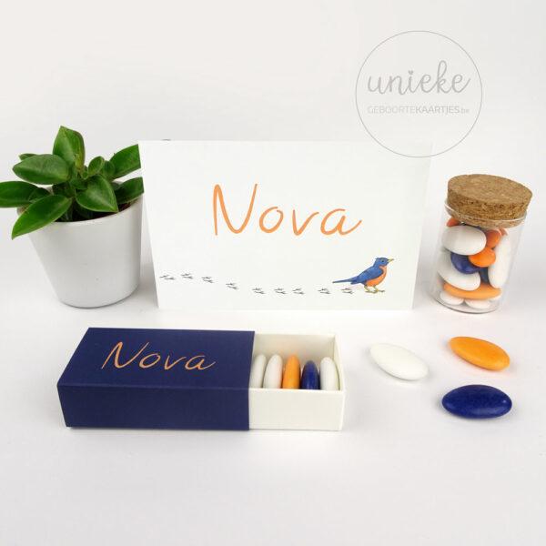 Naamsticker van Nova